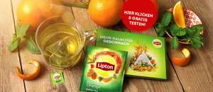 [Facebook Messenger] Gratis testen: Lipton Mandarin Orange Tee