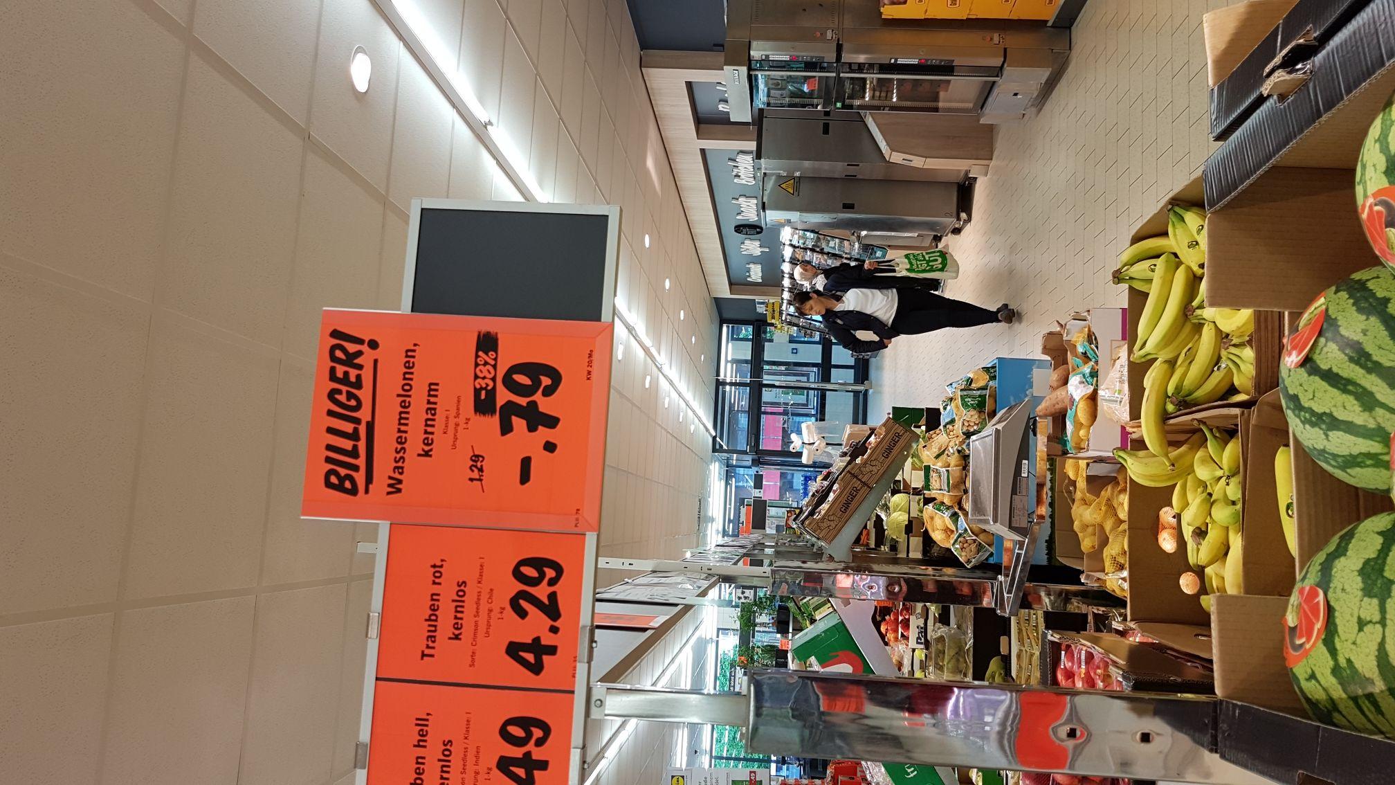 (Lokal)Spanische Wassermelonen kg 0.79€ statt 1.29€ Lidl Bielefeld-Hillegossen
