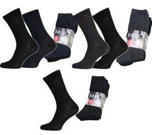 10er Pack Herren Business-Socken (43 - 46) für 4,99€ (Outlet46)
