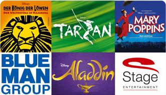 [Postbank Kunden] Stage Entertainment Gutschein mit 20% Preisvorteil kaufen