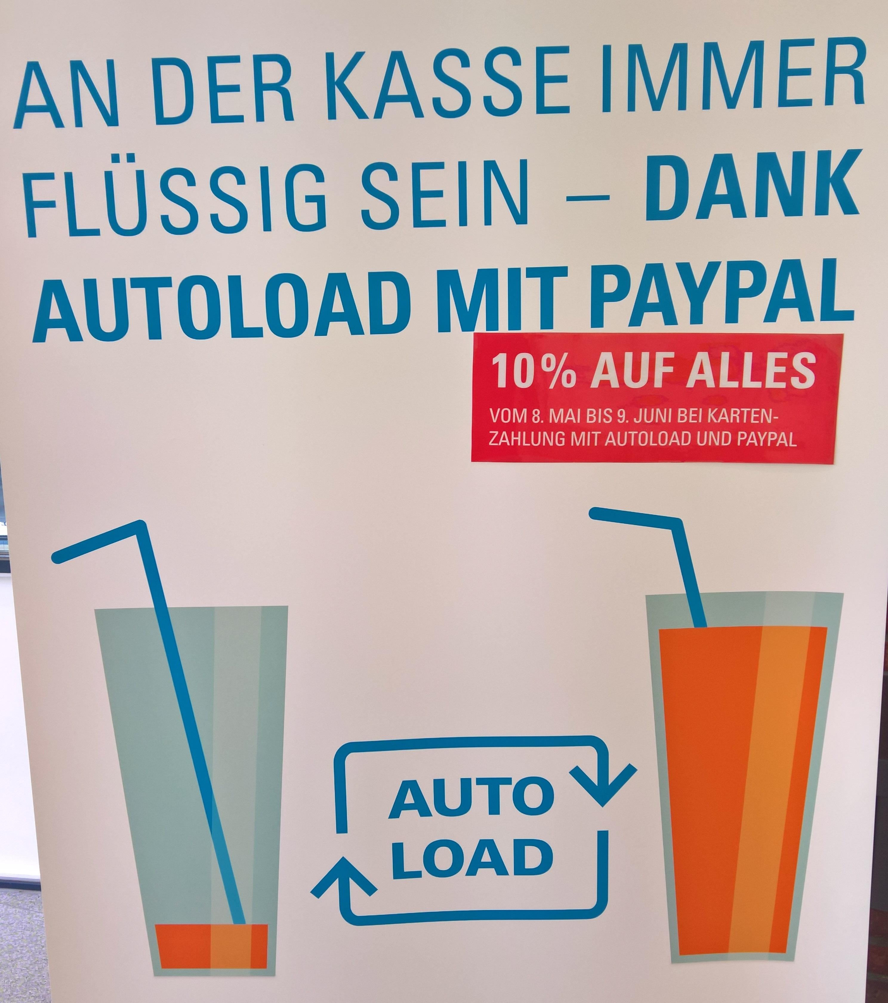 [Mensen Stuttgart & Ludwigsburg] 10% auf ALLES bei bargeldloser Bezahlung & Autoload