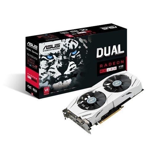 "Asus™ - AMD Radeon Grafikkarte ""Dual-RX480-O8G"" (8GB GDDR5,PCIe3.0,2xHDMI,DVI,2xDisplayPort) für €231,08 [@Amazon.de]"