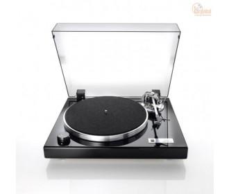 DUAL CS600 Riemen-Plattenspieler manuell mit Audio Technica 150 MLX MM-Tonabnehmer - schwarz Klavierlack