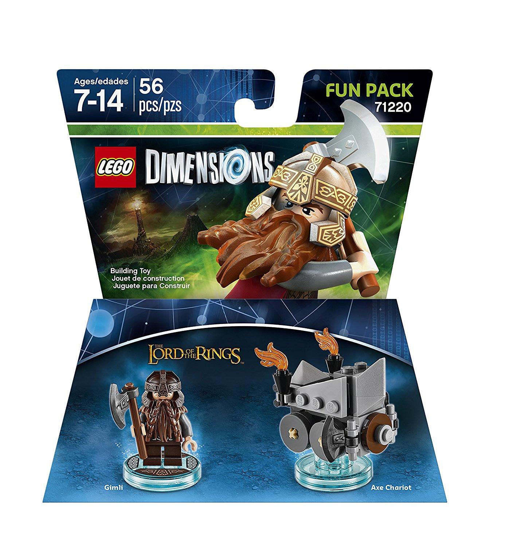 [lokal Saturn Berlin Alex] Lego Deals z. B. Lego Dimensions 71220 Gimli Fun Pack für 5€ oder Lego Juniors 10725 Der verlorene Tempel für 10€ (weitere im Deal)