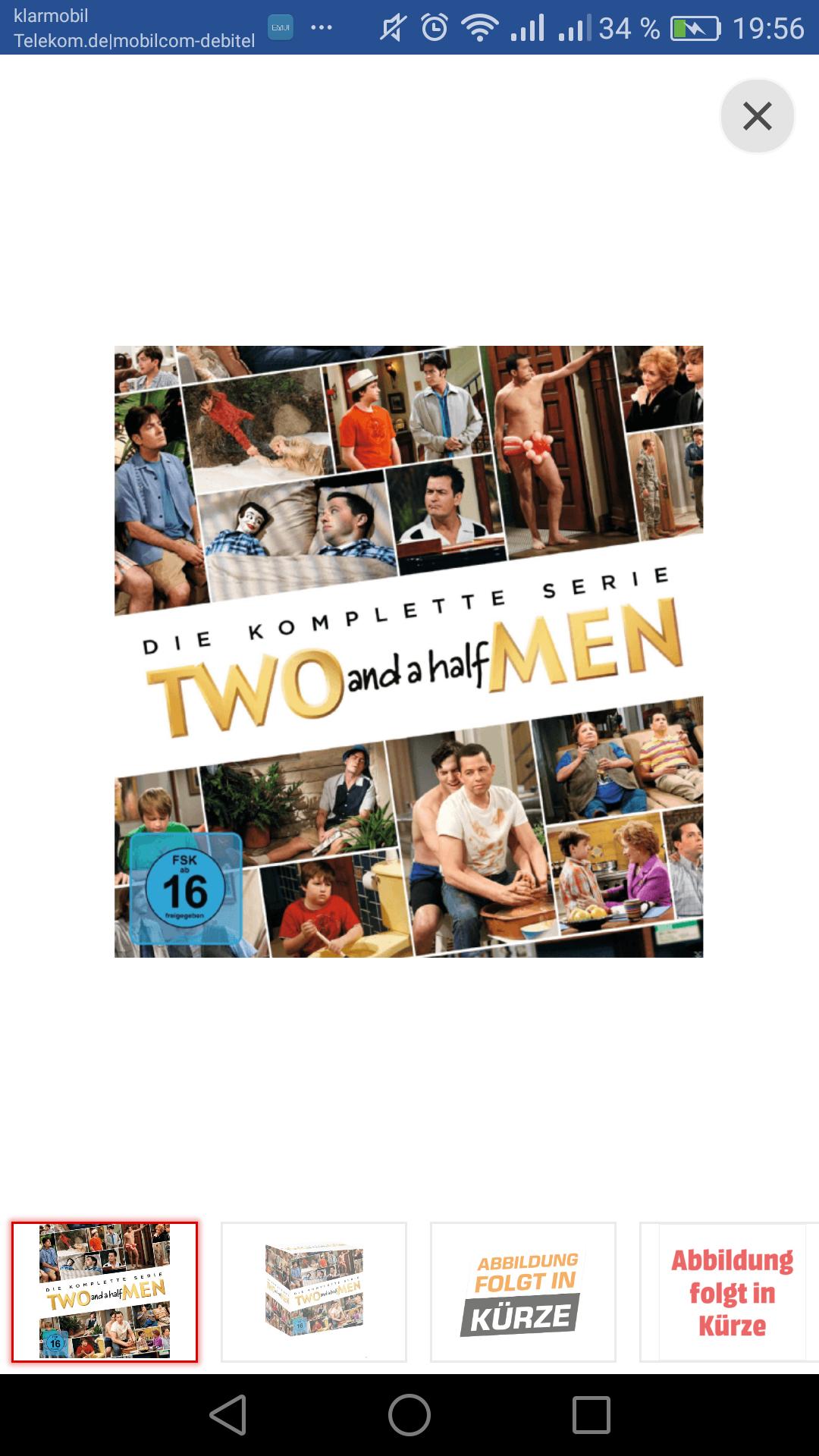 Two And A Half Men - Komplettbox [40 DVDs]   Staffel 1-12, mediamarkt