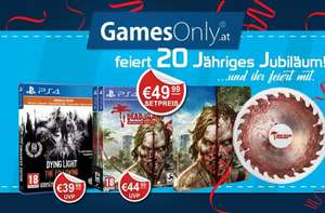 (PS4)Dying Light The Following Enhanced Edition + Dead Island Definitive Edition (Steelbook + Frisbee)