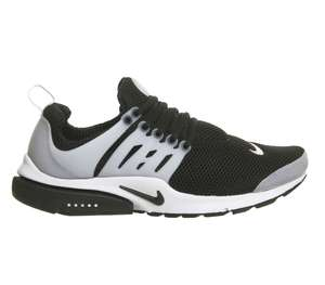 Nike Air Presto Black/White Gr. 42,5 - 46 für 65€ statt ca. 112€ bei OfficeLondon