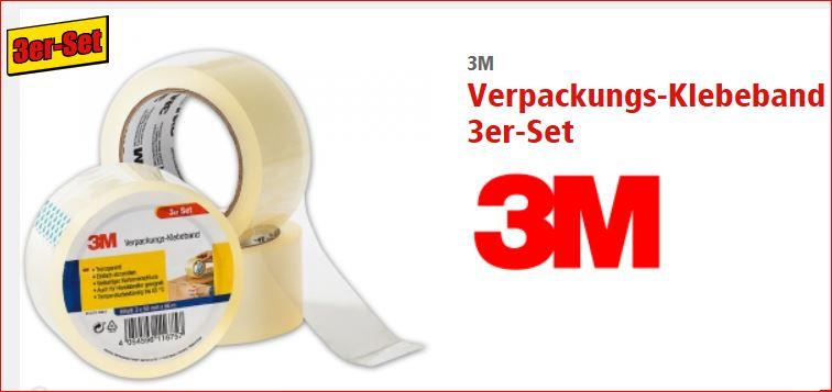 [Norma]  3M Klebebänder, 6 verschiedene Ausführungen, je Set für 2,99 Euro