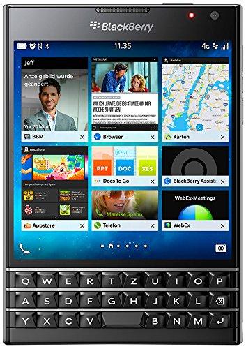(dealclub.de) BlackBerry Passport Smartphone 11,4 cm 4,5 Zoll Display Nano-SIM QWERTZ schwarz