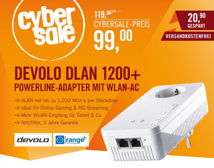 devolo dLAN 1200+ WLAN-ac - Powerlan-Einzeladapter