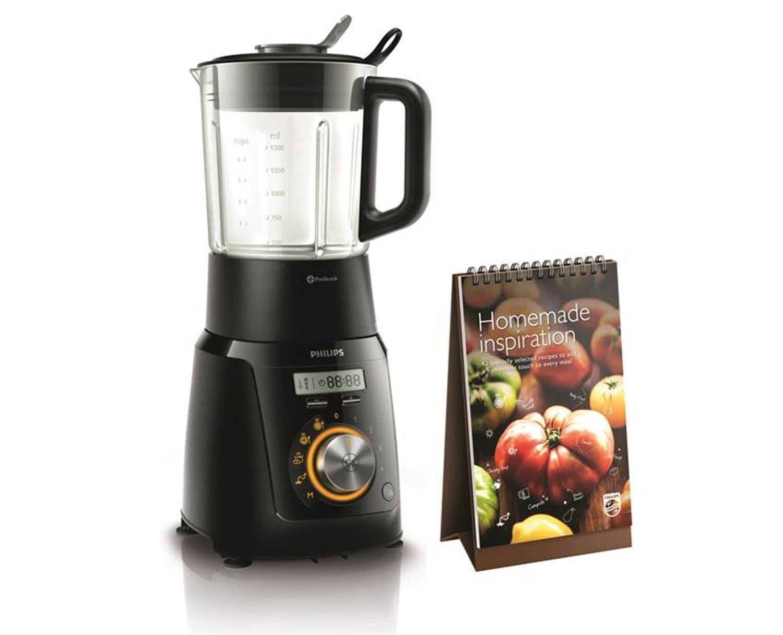 [Amazon.it] Philips Avance Collection HR2099/90 Mixer mit Kochfunktion (schwarz), 1100 Watt
