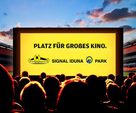 Kino im Stadion (Signal-Iduna-Park), 2 Tickets für 1€ (mit Gutschein) - 50% Rabatt (@DailyDeal)