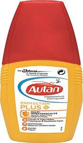 [AMAZON PLUS Produkt] Autan Protection Plus Pumpspray, 100 ml Mückenspray
