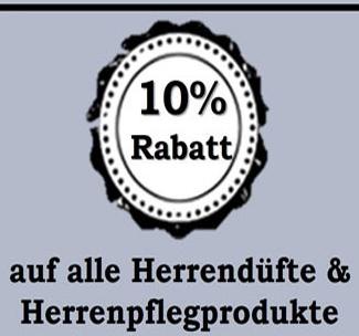 10% auf Herrendüfte und Herrenpflegeprodukte [pillashop.de]