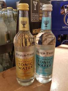 *lokal*Fever Tree Indian Tonic und Mediterranean Tonic 0,5l