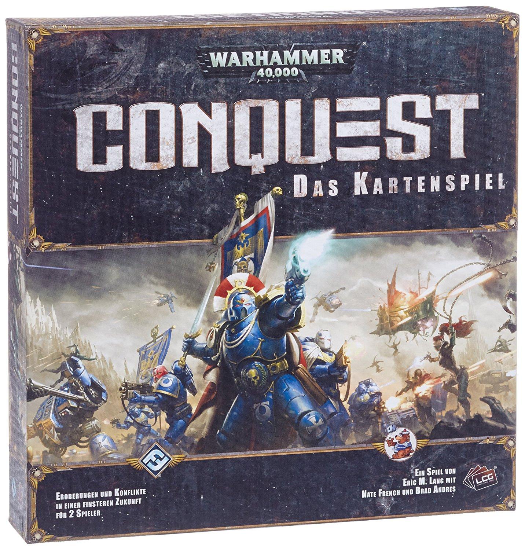 Warhammer 40k: Conquest (Kartenspiel / Deckbuilding) für 11,79€ @Spiele-Offensive