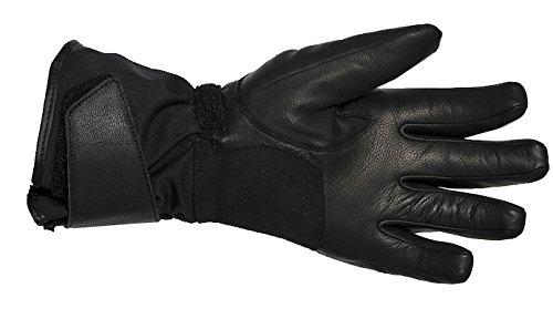 BERING Motorrad Handschuhe Winter, Schwarz, XL