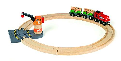 BRIO 33162 - Kleines Zug-Set mit Kran - Amazon Prime