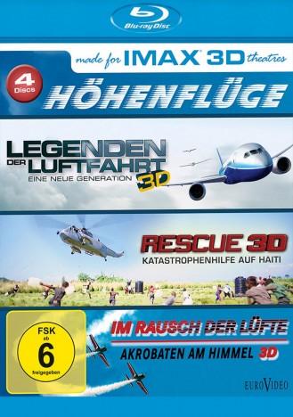 IMAX - Höhenflüge 3D (4x Blu-ray 3D) für 6,96€ (Media Dealer)