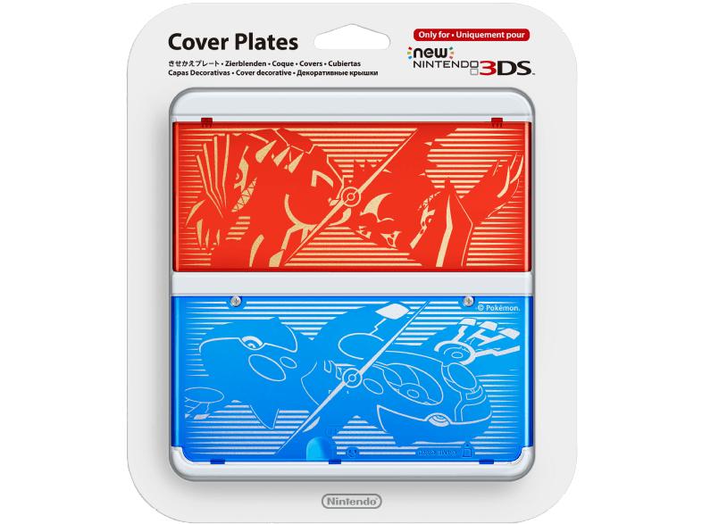 NINTENDO New Nintendo 3DS Zierblende 009 (Pokémon), Zierblende