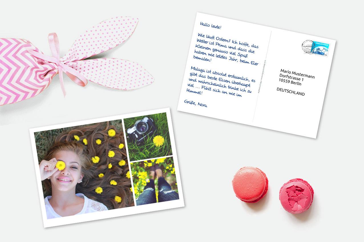 [ANDROID & iOS]30% Rabatt auf die Erste verschickte Postkarte mit MyPostcard!