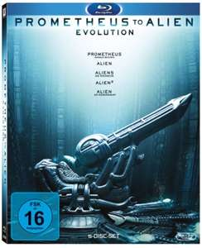 Prometheus to Alien: The Evolution Box (5-Disc Blu-ray) für 19,99€ versandkostenfrei (Saturn)