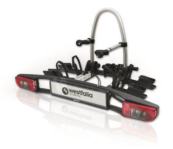 Westfalia Fahrrradträger BC70 , neuste Model, auch für E-Bikes geeignet für 355,00€ und Versandkosten frei statt 469,99 €