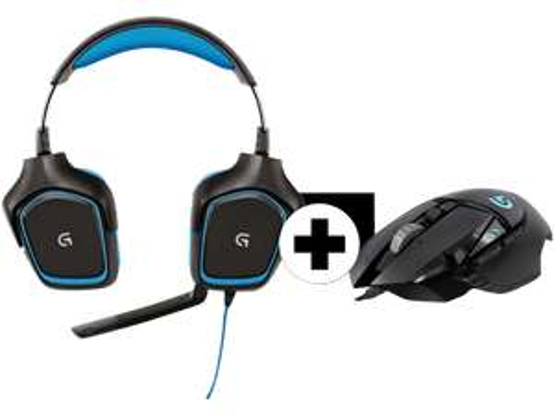 [Mediamarkt] Logitech G430 Gaming Headset + G502 Gaming-Maus für 66,-€..Wieder da und 3€ günstiger