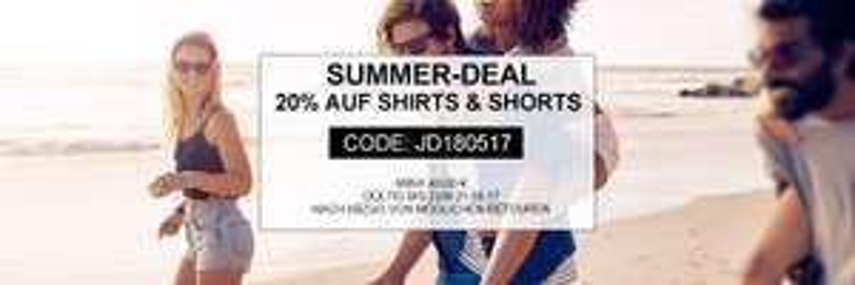20 % auf Sommermode bei [jeans-direct.de]