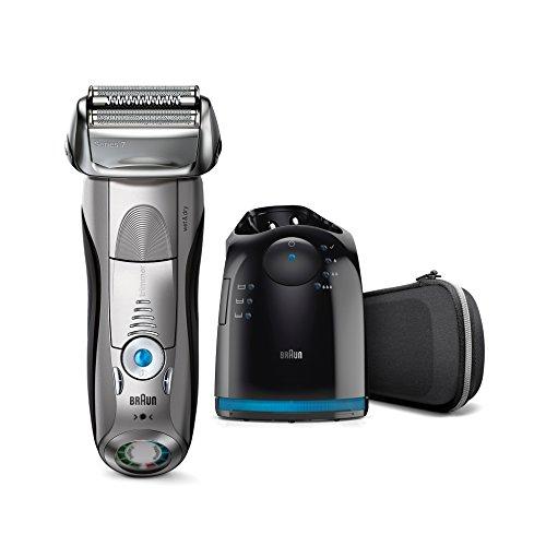 Amazon: (prime only) Braun Series 7 Elektrischer Rasierer 7898cc, mit Reinigungsstation 142,09€ Plus 30€ Cashback PVG 208€ (-32%)
