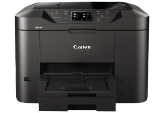 [mediamarkt oder amazon] CANON Maxify MB2750 Tintenstrahldrucker 4-in-1 Multifunktionsgerät (WLAN, Netzwerkfähig, 5.5 Esat, 600 x 1200 dpi, 24 ipm in weiß und schwarz, 15,5 ipm A Farben] Stiftung Warentest Note 2,5