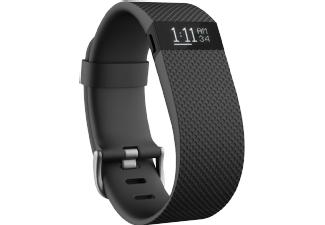 [mediamarkt] FITBIT Charge HR Large, Activity-Tracker, L, Schwarz / Herzfrequenz-, Fitness- und Aktivitätstracker / 35% unter Idealo