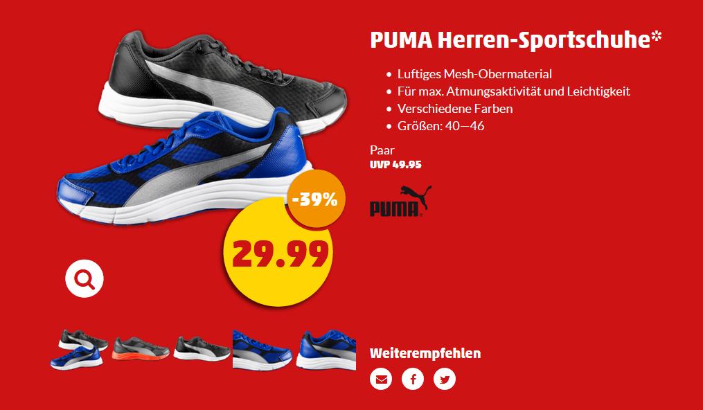 Penny - PUMA Herren-Sweatsporthose statt 34,95 nur 19,99 vorschau KW 21/22
