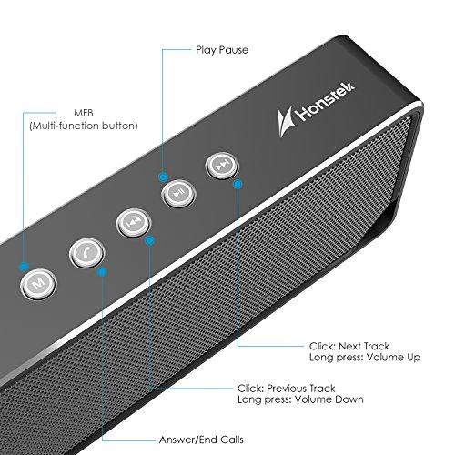 Bluetooth Lautsprecher mit Freisprechfunktion und 6W Systemleistung