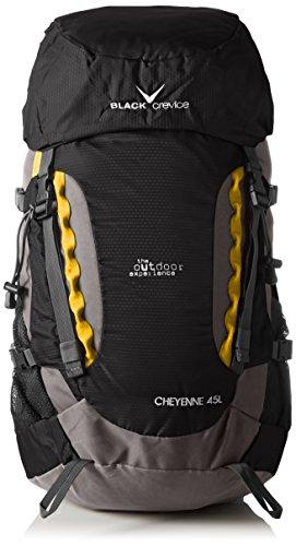 Black Crevice Unisex Wanderrucksack Cheyenne