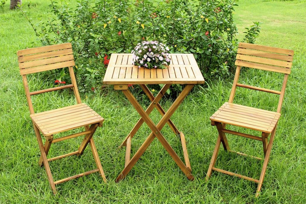 Gartenset aus Akazienholz für 43,85€ inkl. Versand bei XXXL