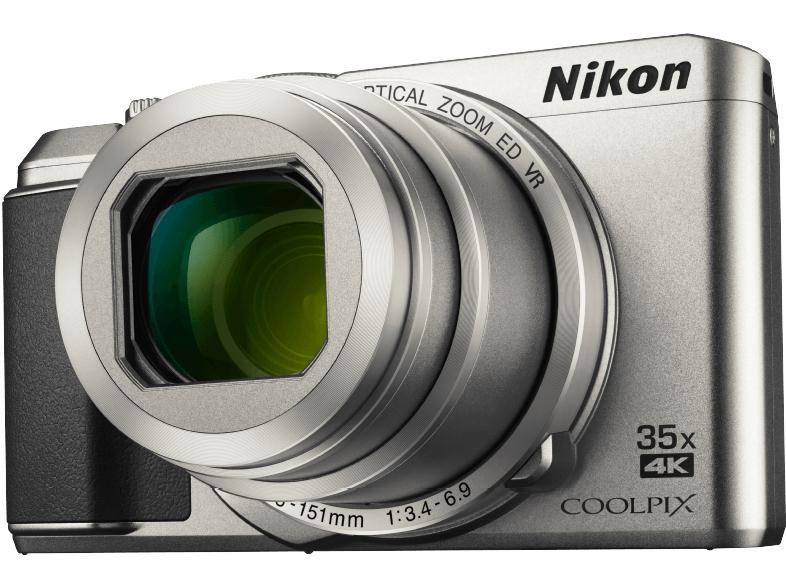 [Media Markt / Amazon Prime] Nikon Coolpix A900 VNA910E1 Kamera (20 MP, 35 x opt. Zoom, 3 Zoll TFT, Wireless Lan, Klappbarer Bildschirm) in schwarz oder silber
