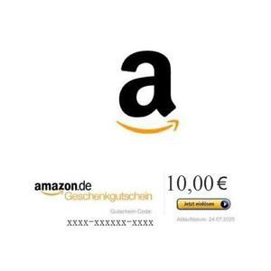 10 € Amazon Gutschein