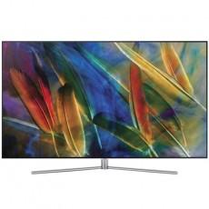 """Samsung QE55Q7C (55"""" Curved 4K QLED Smart TV, 3200Hz, HDR, Wlan + Lan, BT, 2x DVB-C/S2/T2 HD, Sprachsteuerung + Galaxy S7 für 1.747,99 €"""