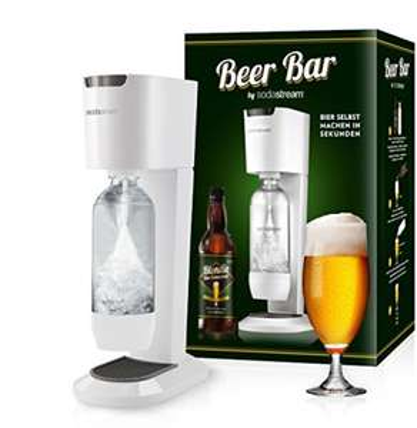 SodaStream Blondie Beer Bar (SodaStream Genesis + Biersirup)