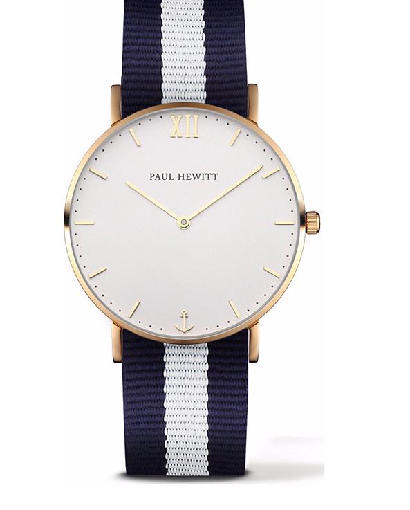 Bis zu 70% Rabatt im Sale + 10% on top bei Christ, z.B. Paul Hewitt Sailor Line Uhr Gold White Sand für 62,91€ inkl. Versand statt 139€