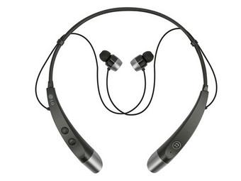 "[iBood/Ceconomy ""Media-Saturn""] LG HBS-500 Bluetooth-In-Ear Headset (Nackenbügel) - schwarz"
