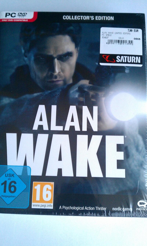 [Local][Saturn B-Alexanderplatz] Alan Wake - Collector's Edition (PC)