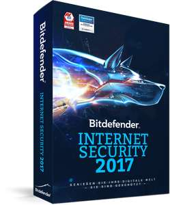 Bitdefender Internet Security 2017 (1 PC) 12 Monate kostenlos
