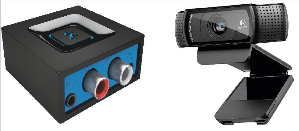 [Mediamarkt] Webcam Logitech C920 HD Pro, Full HD,Videoauflösung: 1920 x 1080 Pixel für 49,-€***Logitech Bluetooth Audio Adapter schwarz für 19,-€***