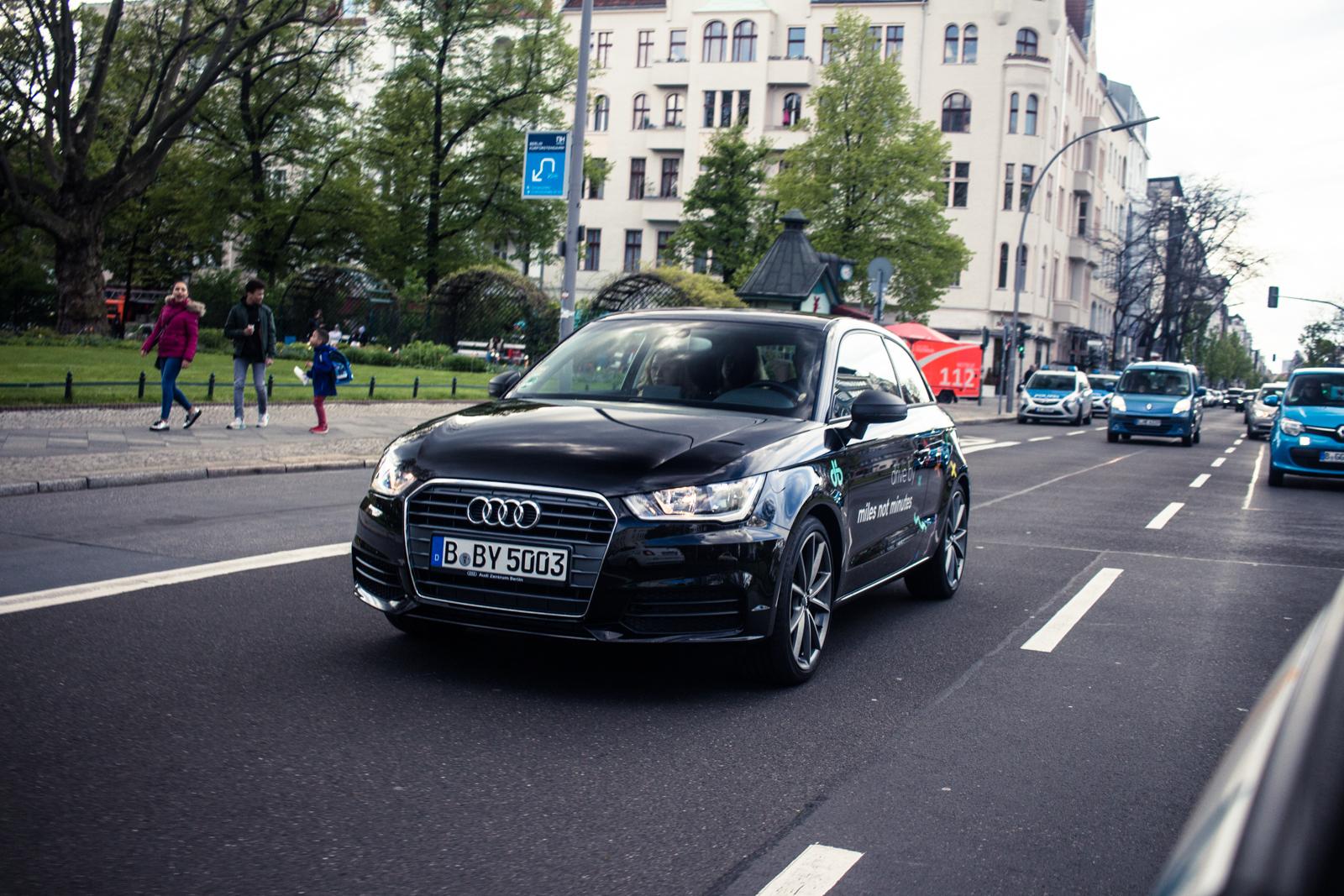 Carsharing von Audi 0€ Anmeldegebühr+ 15 Freikilometer in Berlin
