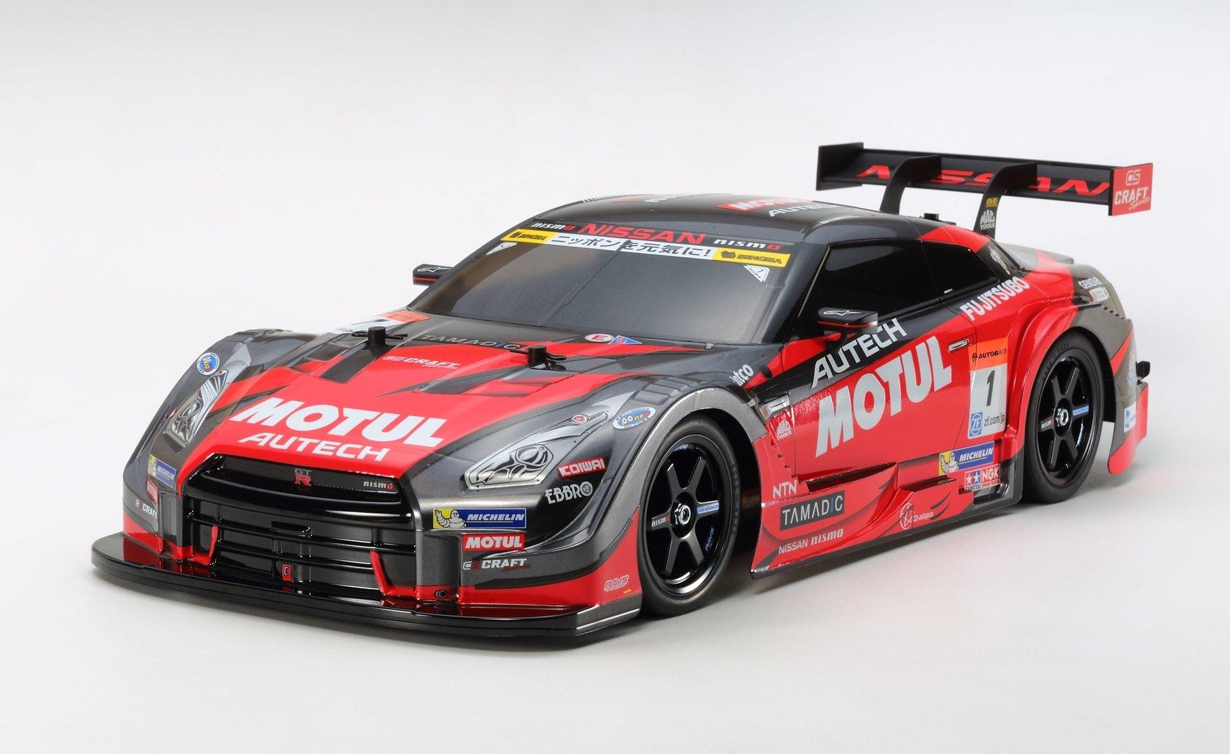 [RC-KleinKram] Tamiya TT-02 Roller - Motul Autech Nissan Nismo GT-R - 1:10