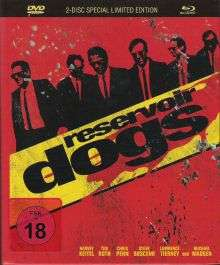 Reservoir Dogs - Limited Edition Mediabook (Blu-ray + DVD) für 8,93€ inkl. VSK (Alphamovies)