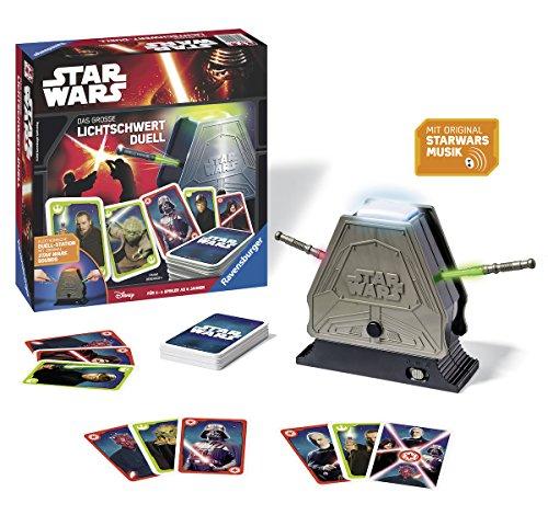 Star Wars: das große Lichtschwert Duell, Aktions- und Geschicklichkeitsspiel