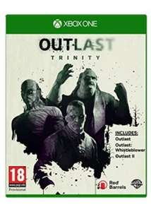 Outlast Trinity (PS4 & Xbox One) für je 26,12€ inkl. VSK (Base.com)